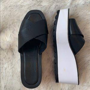 Zara Basic Wedges